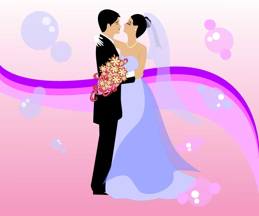 Free-Wedding-Vector-Art