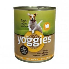 Yoggies krůtí konzerva s batáty a bodlákovým olejem 800 g