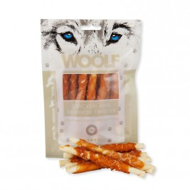 WOOLF pochoutka chicken and rawhide twister 100g