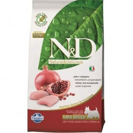 N&D Grain Free DOG Adult Mini Chicken&Pomegranate 800g