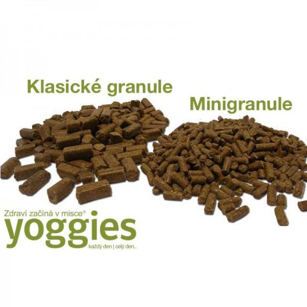 Yoggies MINI Jehnečí a bílá ryba 1,2 kg