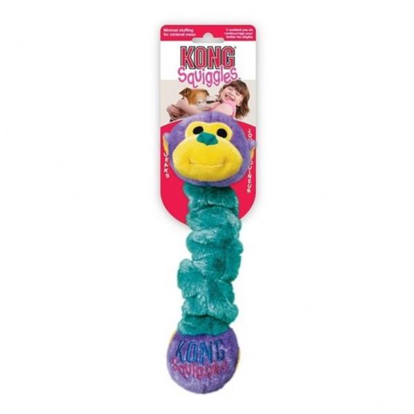 Hračka plyš Squiggles Zvíře natahovací Kong large