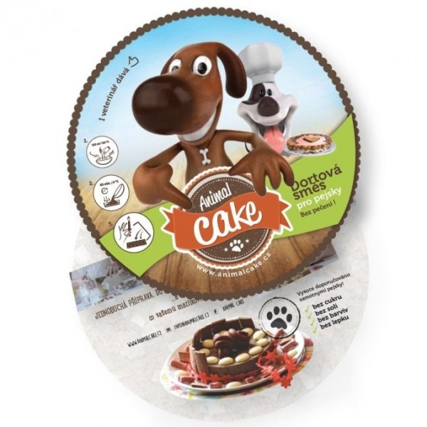 Animal Cake - dortová směs pro psy 120g