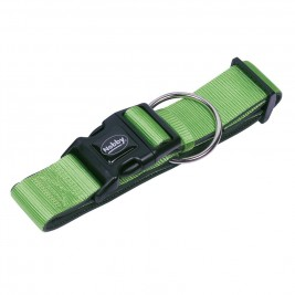 Nobby CLASSIC PRENO extra široký obojek neoprén zelená L-XL 40-5