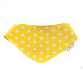 """Šátek na patentky """"Kinsale"""" žlutý vel. M"""