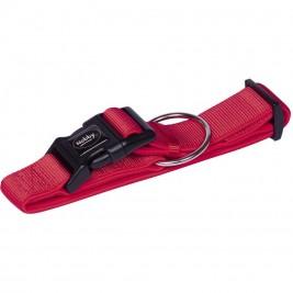 Nobby CLASSIC PRENO extra široký obojek neoprén červená L-XL 40-