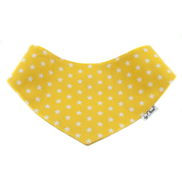 """Šátek na patentky """"Kinsale"""" žlutý vel. L"""