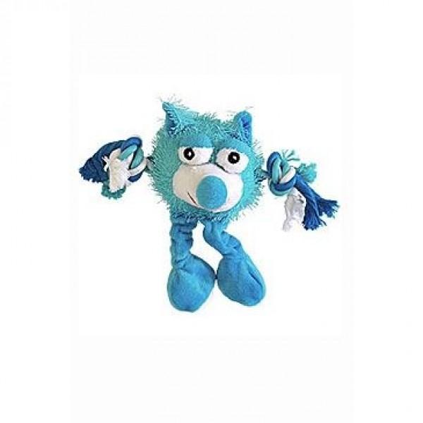 Hračka pes Trio Monster Friend modrý plyš 21cm