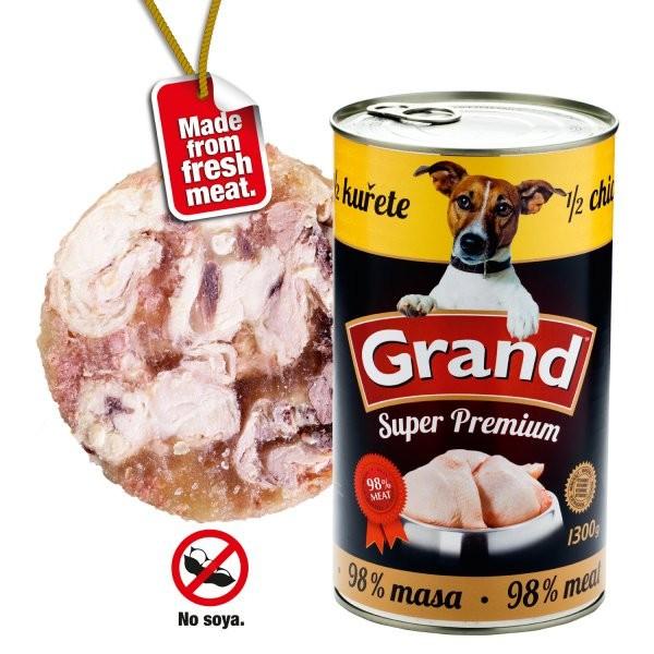 GRAND konz. Extra s 1/2 kuřete 1300 g