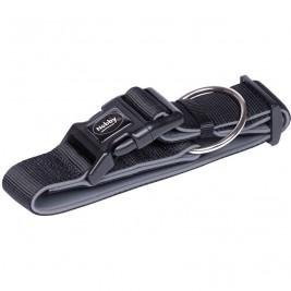 Nobby CLASSIC PRENO extra široký obojek neoprén černá L 32-45cm