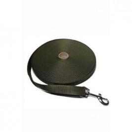 Vodítko DINOFASHION stopovací ploché khaki 20m/2cm