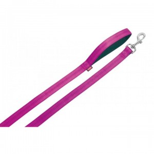 Vodítko nylon soft Grip - tmavě růžové Nobby 2,0 x 120 cm