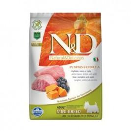 N&D GF Pumpkin DOG Adult Mini Boar & Apple 7kg
