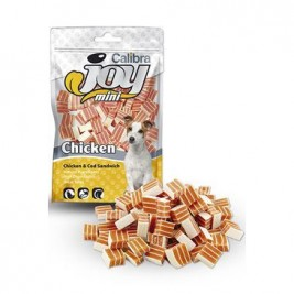 Calibra Joy Dog Mini Chicken & Cod Sandwich 70g NEW