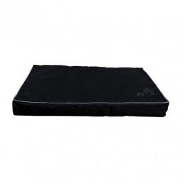 Obdelníkový polštář DRAGO s packou 110 x 80 cm černý