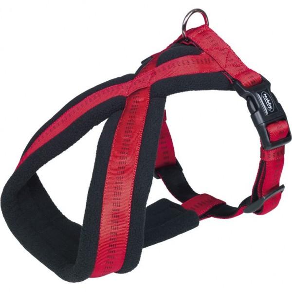 Levně Postroj X soft Grip Comfort 50-80 cm červený