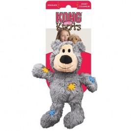 Hračka plyš + bavl. Knots Přetahovadlo Medvěd Kong X-large