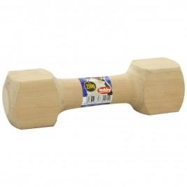 Nobby aportovací činka dřevěná 250g