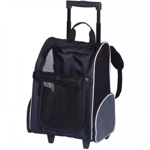 Vozík/batoh PILAR pro psa do 8 kg 35x27x49 cm
