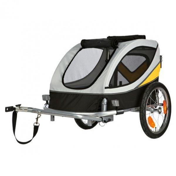 Trixie M 45x48x74 cm, vozík za kolo pro psa do 30 kg