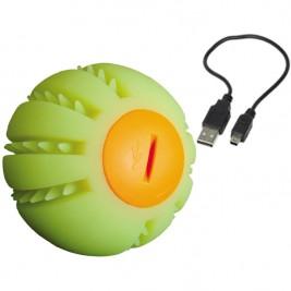 Nobby Starlight svítící míček nabíjení USB žlutá 6,5 cm
