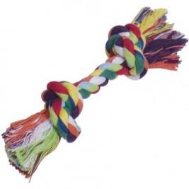Nobby barevné lano 2x uzel bavlna 50g