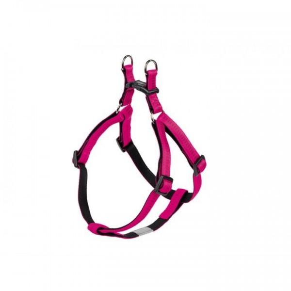 Postroj nylon soft Grip - tmavě růžový Nobby 1,0 x 30-40 cm