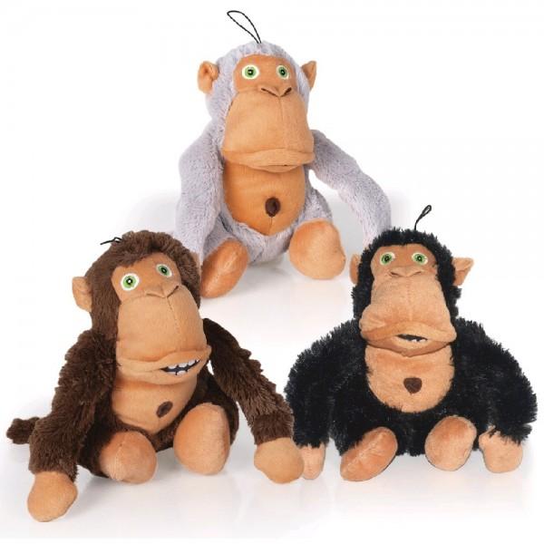 Crazy monkey hnědá 36 cm