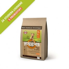 Yoggies MINI Active kachna a zvěřina 1,2 kg