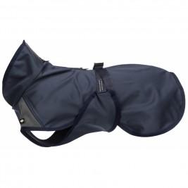Softshellová bunda ASTON, M: 50cm: 48-74cm, tmavomodrá/šedá