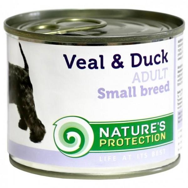NP Dog konzerva Adult Small Breeds Veal&Duck 200 g