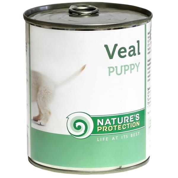 NP Dog konzerva Puppy Veal 200 g