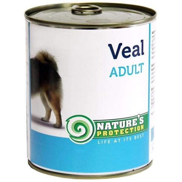 NP Dog konzerva Adult Veal 800 g