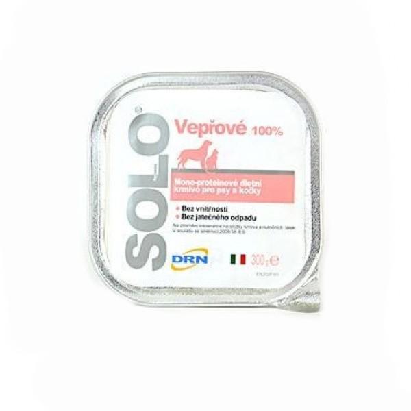 SOLO Maiale 100% (vepřové) vanička 300g