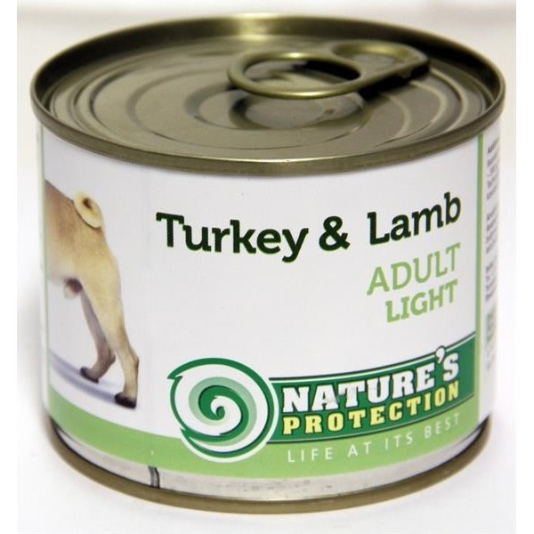 NP Dog konzerva Adult Light Turkey&Lamb 200 g