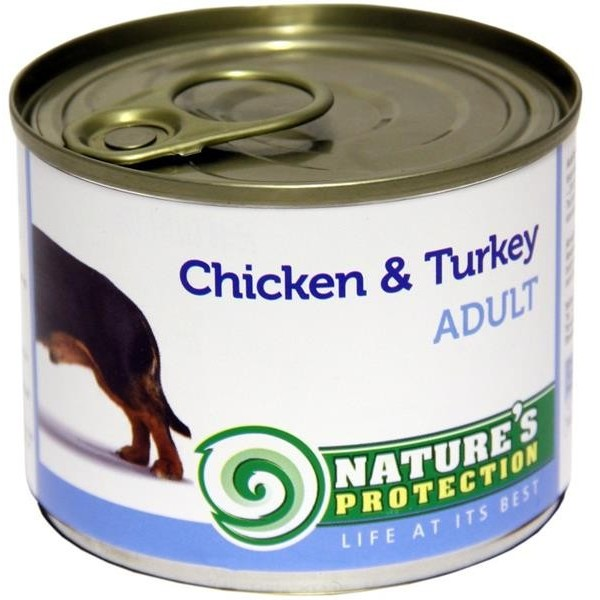 NP Dog konzerva Adult Chicken&Turkey 200 g