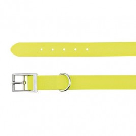 Easy Life obojek PVC M-L 43-51 cm/20 mm neon žlutý