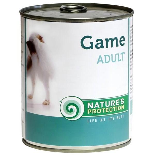 NP Dog konzerva Adult Game - zvěřina 400 g