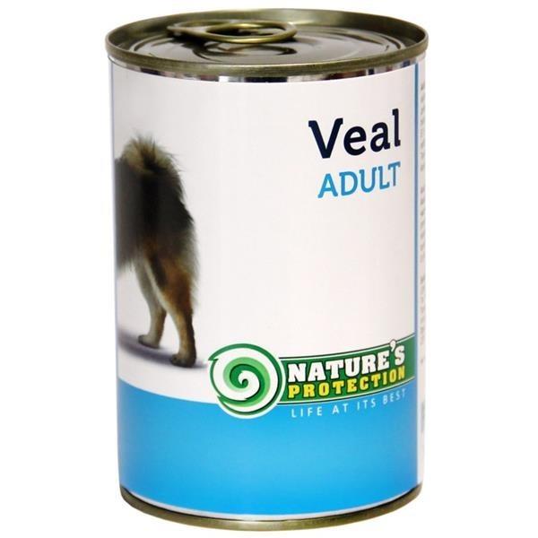 NP Dog konzerva Adult Veal 400 g