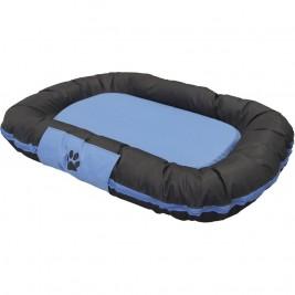 Nobby RENO odolný polštář pro psy modrá 80x58x10cm