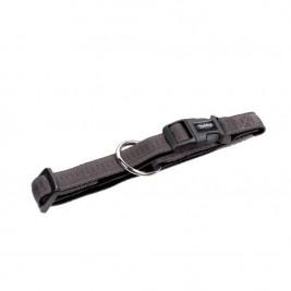 Obojek nylon soft Grip - šedý Nobby 1,5 x 25-35 cm
