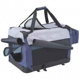 Nobby Traveller Plus M nylonový box kennelka pro psy 60x42x42cm