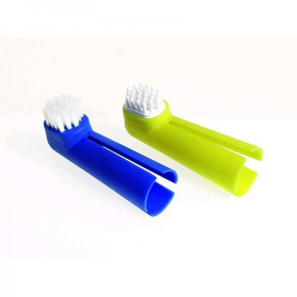 Zubní kartáček prstový - sada Karlie 2 ks