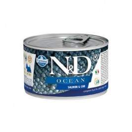 N&D DOG OCEAN Adult Salmon & Codfish Mini 140g