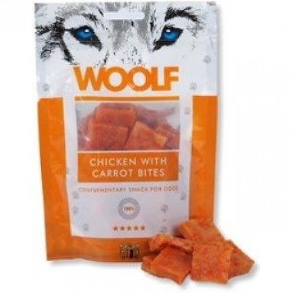 WOOLF pochoutka chicken with carrot bites 100g
