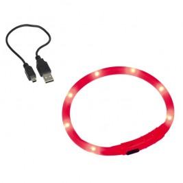 Nobby Led Visible svítící kroužek silikon červená 40cm