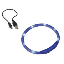 Nobby Led Visible svítící kroužek silikon modrá 40cm