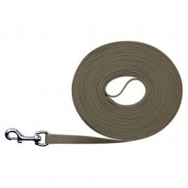 Easy Life trekové vodítko PVC 15,00 m/17 mm taupe-šedé