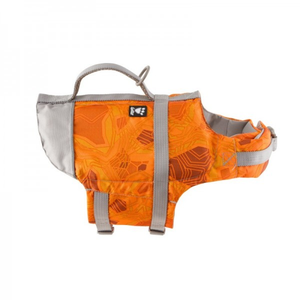 Vesta plavací Hurtta Life Savior 20-40 kg oranžová camo