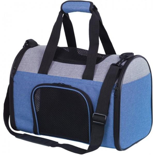Přepravní taška JANU do 6 kg modrá 41x24x29 cm